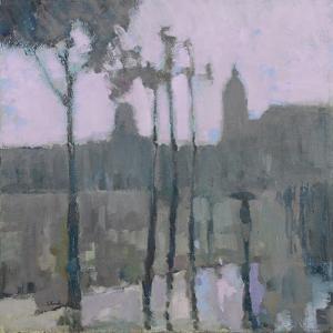 Paris in the Rain, 2016 by Michael G. Clark