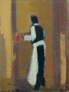 Parisian waiter, 2015 by Michael G. Clark