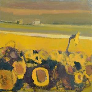 Sunflowers near Puymirol, 2017 by Michael G. Clark