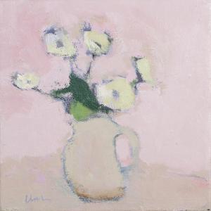 White Anemones, 2016 by Michael G. Clark