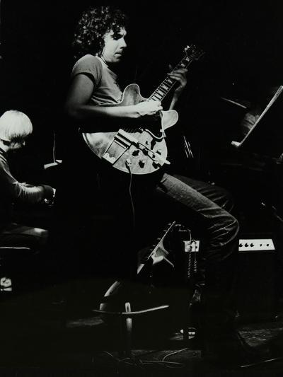 Michael Garrick and John Etheridge Playing at the Stables, Wavendon, Buckinghamshire-Denis Williams-Photographic Print