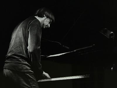 Michael Garrick on the Piano at the Stables, Wavendon, Buckinghamshire-Denis Williams-Photographic Print