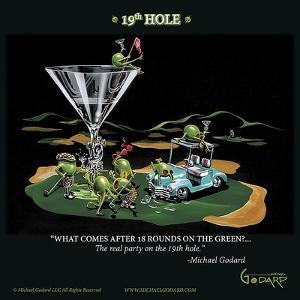 19th Hole by Michael Godard