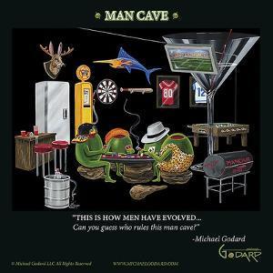 Man Cave by Michael Godard