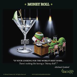 Money Roll by Michael Godard