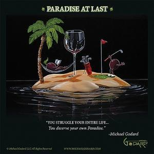 Paradise At Last by Michael Godard