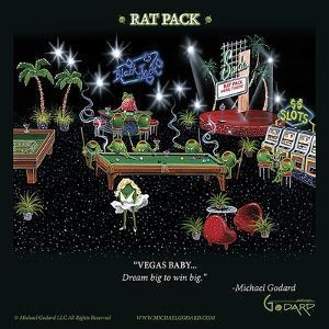 Rat Pack by Michael Godard