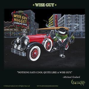 Wise Guy by Michael Godard