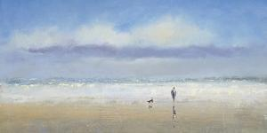 Beachside Stroll by Michael J^ Sanders
