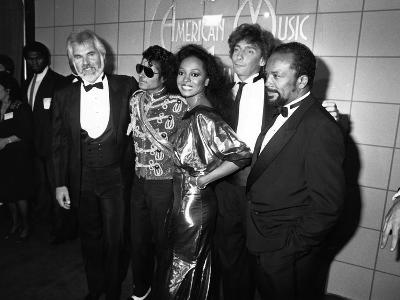 Michael Jackson - 1984-Isaac Sutton-Photographic Print