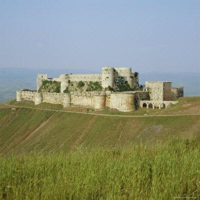 Crusader Castle, Krak Des Chevaliers, Syria