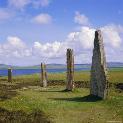 Ring of Brodgar (Brogar), Mainland, Orkney Islands, Scotland, UK,Europe