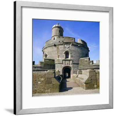 St. Mawes Castle, Built by King Henry VIII, Cornwall, England, UK