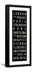 Europe Transit Sign by Michael Jon Watt