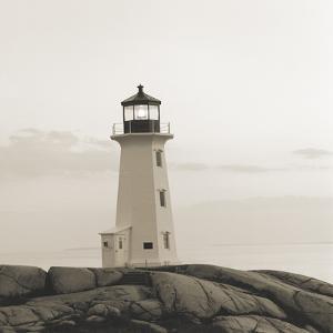 Peggy's Cove Light by Michael Kahn