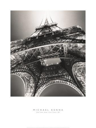 Eiffel Tower, Study 3, Paris, France, 1987