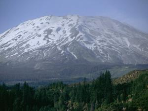Mount Saint Helens Viewed from the South Side of the Mountain by Michael Klesius