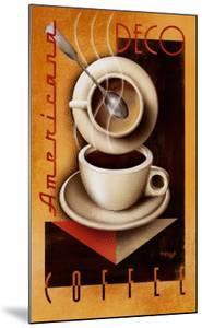 Americana Deco Coffee by Michael L^ Kungl