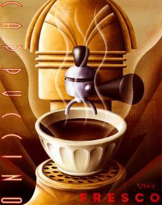 Cappuccino Fresco by Michael L^ Kungl