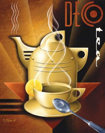 Deco Tea by Michael L. Kungl