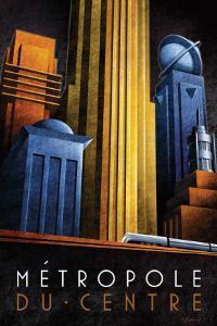 Metropole du Centre by Michael L^ Kungl