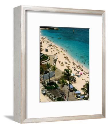 Overlooking Beach Activities on Paradise Island, Paradise Island, Bahamas