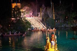 Mayans Participate in the Ceremony for the Goddess Ixchel by Michael Lewis