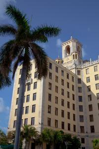 The Facade of the Historic Hotel Nacional in Centro Havana by Michael Lewis
