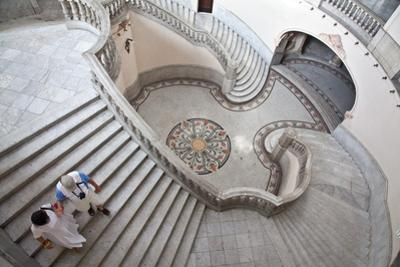 Visitors at the Gran Teatro De Habana by Michael Lewis