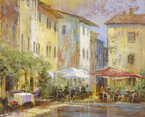 Courtyard Cafe by Michael Longo