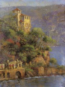 Mediterranean Hillside by Michael Longo