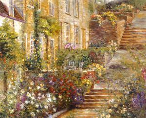Patio Gardens I by Michael Longo