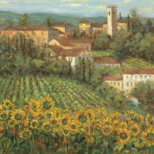 Provencal Village IV by Michael Longo