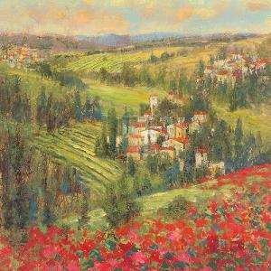 Provencal Village XIV by Michael Longo