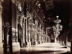 Foyer of the Opera, Paris by Michael Maslan