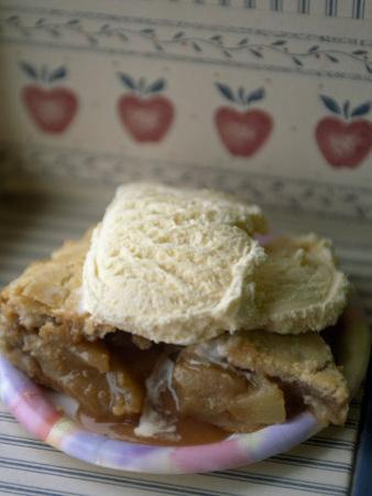 Apple Pie A' La Mode, or with Ice Cream on Top by Michael Melford