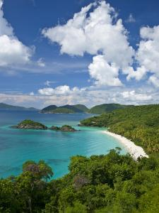 Beautiful View of Trunk Bay in St. John by Michael Melford
