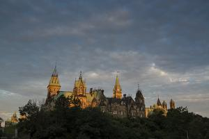 Canadian Parliament Buildings on Parliament Hill by Michael Melford