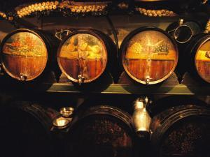 Casks of Wine and Braids of Garlic by Michael Melford