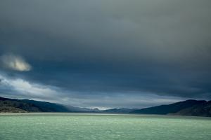 Darkening Skies Above the Fjord of Kangerlussuaq by Michael Melford