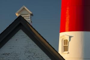 Detail of the Nauset Light, Eastham, Cape Cod, Massachusetts by Michael Melford