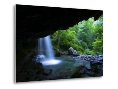Grotto Falls Waterfall on Roaring Fork Creek