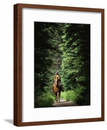 Horseback Riding on an Emerald Lake Lodge Bridle Trail