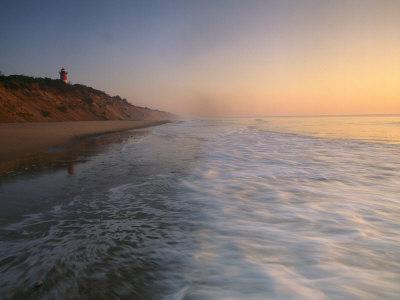 Nauset Light on the Shoreline of Nauset Beach