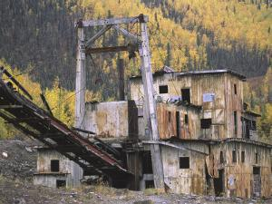 Old Gold Dredge by Michael Melford