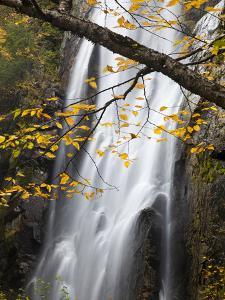 Rainbow Falls in the Saint Huberts Region of the Adirondacks by Michael Melford