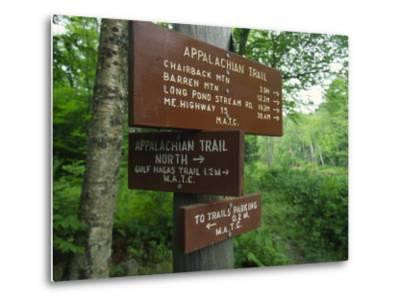 Signs Along the Appalachian Trail