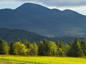 The Adirondack Mountains Near Lake Placid by Michael Melford