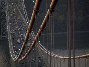View from the Top of the George Washington Bridge by Michael Melford