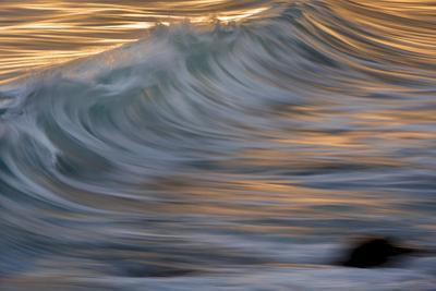 Waves in the Sea of Cortez Near La Paz by Michael Melford